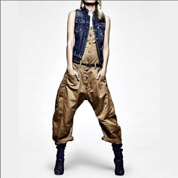 new concept f6c37 a36f1 G-Star Raw NY Correctline Overalls Jumpsuit Size S